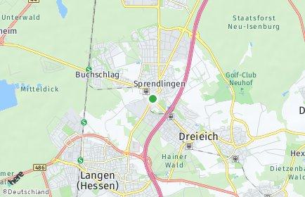 Stadtplan Dreieich