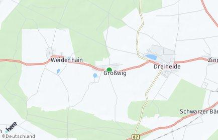 Stadtplan Dreiheide