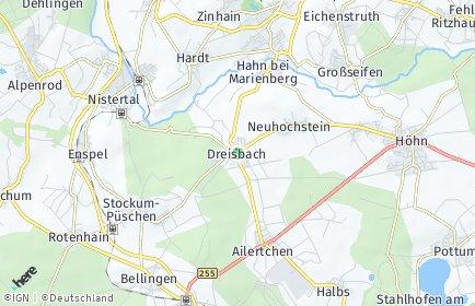 Stadtplan Dreisbach