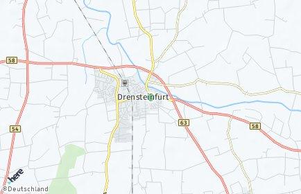 Stadtplan Drensteinfurt
