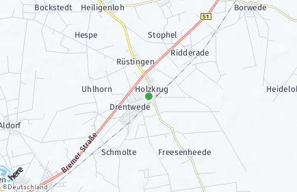 Stadtplan Drentwede