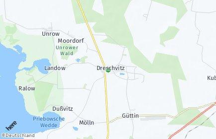 Stadtplan Dreschvitz
