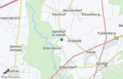 Stadtplan Drestedt