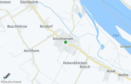 Stadtplan Drochtersen