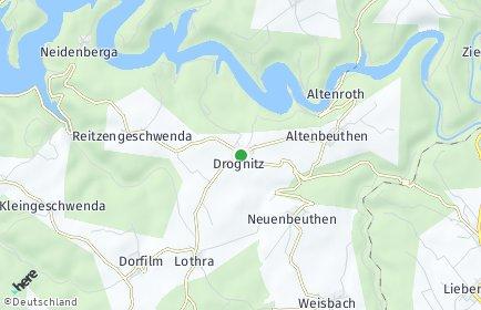 Stadtplan Drognitz