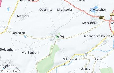 Stadtplan Droyßig