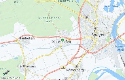 Stadtplan Dudenhofen