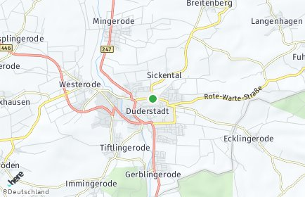 Stadtplan Duderstadt