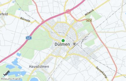 Stadtplan Dülmen