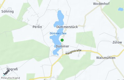 Stadtplan Dümmer