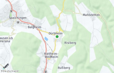 Stadtplan Dürbheim