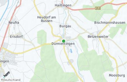 Stadtplan Dürmentingen