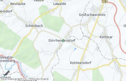 Stadtplan Dürrhennersdorf
