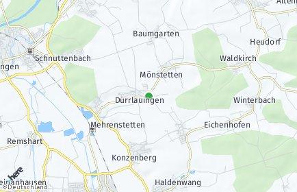 Stadtplan Dürrlauingen