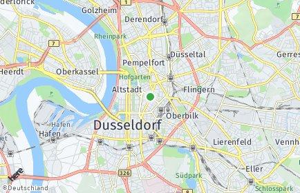 Plz Dusseldorf Postleitzahl Nordrhein Westfalen Deutschland