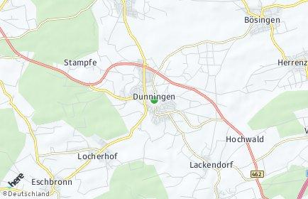 Stadtplan Dunningen