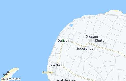 Stadtplan Dunsum