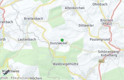 Stadtplan Dunzweiler