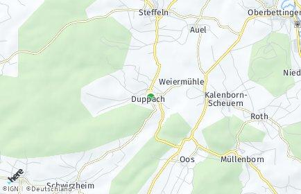 Stadtplan Duppach