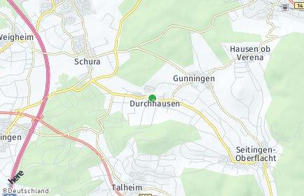 Stadtplan Durchhausen