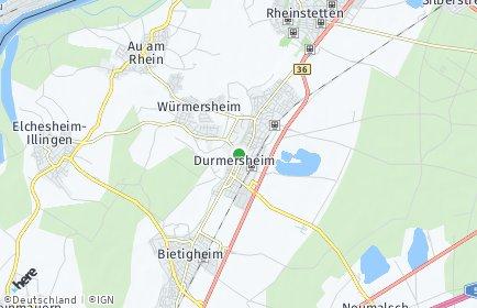 Stadtplan Durmersheim