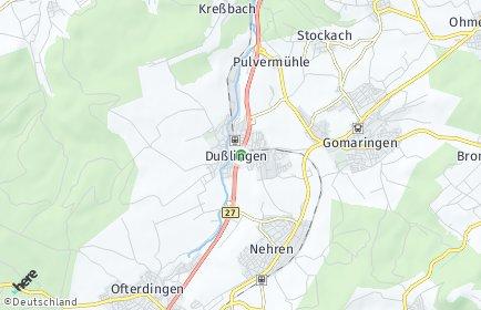 Stadtplan Dußlingen