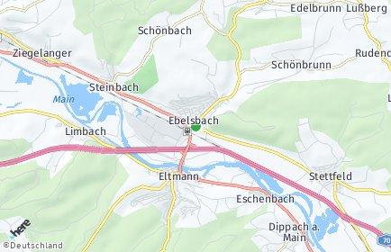 Stadtplan Ebelsbach