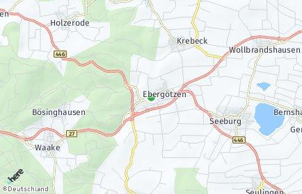Stadtplan Ebergötzen