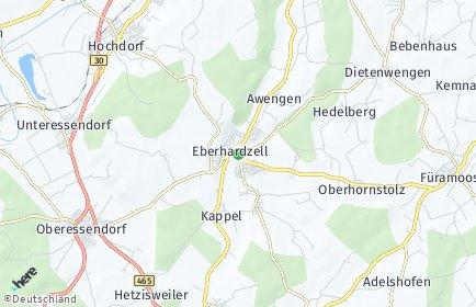 Stadtplan Eberhardzell