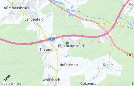 Stadtplan Ebermannsdorf