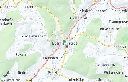 Stadtplan Ebermannstadt