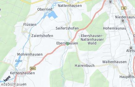 Stadtplan Ebershausen