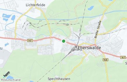 Stadtplan Eberswalde OT Brandenburgisches Viertel