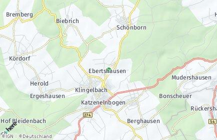 Stadtplan Ebertshausen