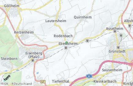 Stadtplan Ebertsheim