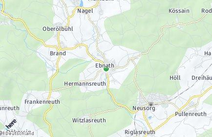 Stadtplan Ebnath