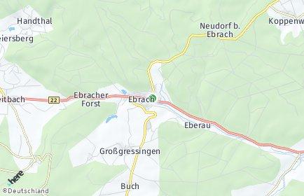 Stadtplan Ebrach