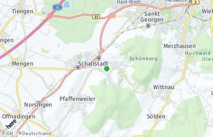Stadtplan Ebringen