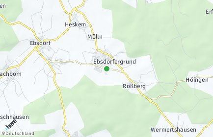 Stadtplan Ebsdorfergrund