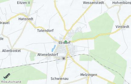 Stadtplan Ebstorf