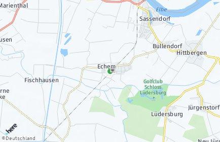 Stadtplan Echem
