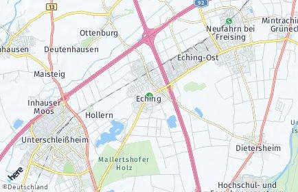 Stadtplan Eching (Landkreis Freising)