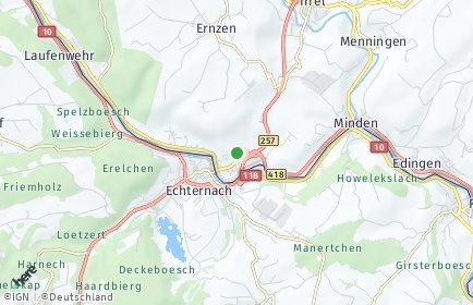 Stadtplan Echternacherbrück