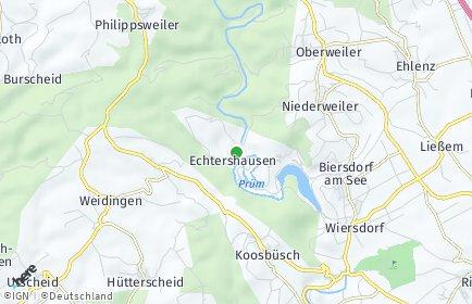 Stadtplan Echtershausen