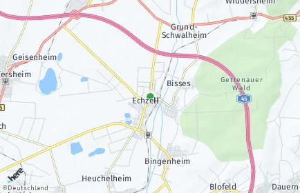 Stadtplan Echzell