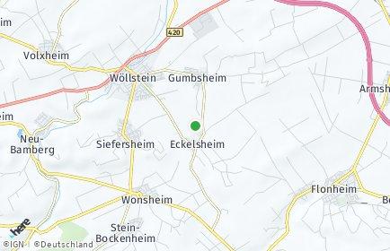 Stadtplan Eckelsheim