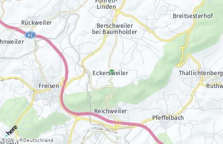 Stadtplan Eckersweiler