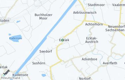 Stadtplan Ecklak
