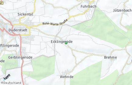 Stadtplan Ecklingerode