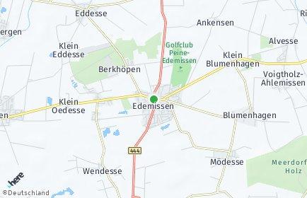 Stadtplan Edemissen